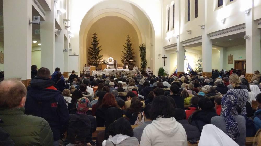 pellegrinaggio a medjugorje di capodanno la chiesa