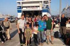 al porto di Spalato