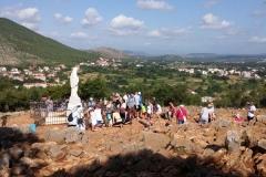 la Madonnina sulla collina del Podbrdo