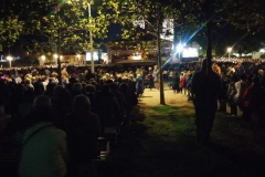 la sera dell'Adorazione a Medjugorje