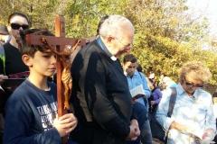la via crucis con le sue medtazioni