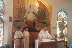 la santa messa al cenacolo