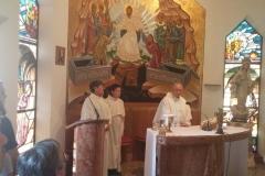 la Santa Messa..