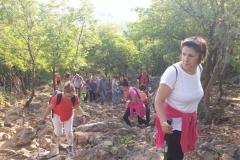 la fatica nella preghiera mai triste della via crucis sul monte krizevac