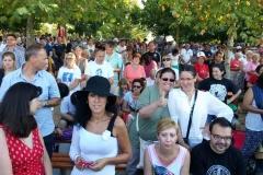 I bambini pellegrini del pellegrinaggio a Medjugorje 31 luglio 7 agosto 2016 speciale giovani (110)