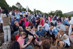 I bambini pellegrini del pellegrinaggio a Medjugorje 31 luglio 7 agosto 2016 speciale giovani (13)
