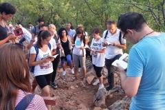 I bambini pellegrini del pellegrinaggio a Medjugorje 31 luglio 7 agosto 2016 speciale giovani (17)