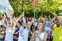I bambini pellegrini del pellegrinaggio a Medjugorje 31 luglio 7 agosto 2016 speciale giovani (26)