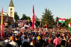 I bambini pellegrini del pellegrinaggio a Medjugorje 31 luglio 7 agosto 2016 speciale giovani (28)
