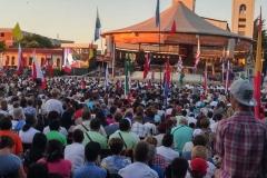 I bambini pellegrini del pellegrinaggio a Medjugorje 31 luglio 7 agosto 2016 speciale giovani (32)