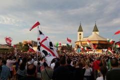 I bambini pellegrini del pellegrinaggio a Medjugorje 31 luglio 7 agosto 2016 speciale giovani (4)