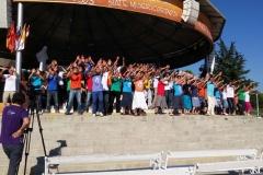 I bambini pellegrini del pellegrinaggio a Medjugorje 31 luglio 7 agosto 2016 speciale giovani (40)