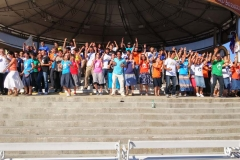 I bambini pellegrini del pellegrinaggio a Medjugorje 31 luglio 7 agosto 2016 speciale giovani (42)