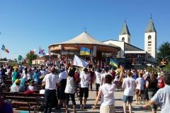 I bambini pellegrini del pellegrinaggio a Medjugorje 31 luglio 7 agosto 2016 speciale giovani (46)