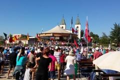 I bambini pellegrini del pellegrinaggio a Medjugorje 31 luglio 7 agosto 2016 speciale giovani (47)