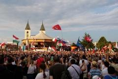 I bambini pellegrini del pellegrinaggio a Medjugorje 31 luglio 7 agosto 2016 speciale giovani (5)