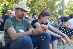 I bambini pellegrini del pellegrinaggio a Medjugorje 31 luglio 7 agosto 2016 speciale giovani (57)