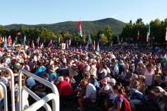 I bambini pellegrini del pellegrinaggio a Medjugorje 31 luglio 7 agosto 2016 speciale giovani (60)