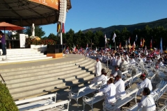 I bambini pellegrini del pellegrinaggio a Medjugorje 31 luglio 7 agosto 2016 speciale giovani (63)