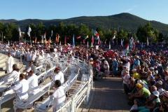 I bambini pellegrini del pellegrinaggio a Medjugorje 31 luglio 7 agosto 2016 speciale giovani (64)