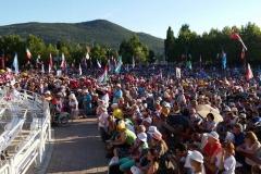 I bambini pellegrini del pellegrinaggio a Medjugorje 31 luglio 7 agosto 2016 speciale giovani (65)