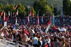 I bambini pellegrini del pellegrinaggio a Medjugorje 31 luglio 7 agosto 2016 speciale giovani (72)