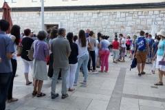 I bambini pellegrini del pellegrinaggio a Medjugorje 31 luglio 7 agosto 2016 speciale giovani (76)