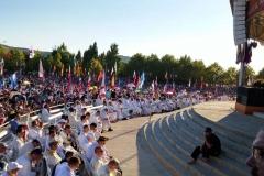 I bambini pellegrini del pellegrinaggio a Medjugorje 31 luglio 7 agosto 2016 speciale giovani (82)