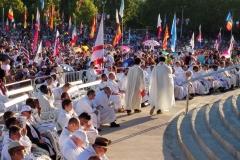 I bambini pellegrini del pellegrinaggio a Medjugorje 31 luglio 7 agosto 2016 speciale giovani (83)