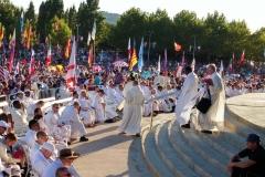 I bambini pellegrini del pellegrinaggio a Medjugorje 31 luglio 7 agosto 2016 speciale giovani (85)