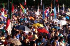 I bambini pellegrini del pellegrinaggio a Medjugorje 31 luglio 7 agosto 2016 speciale giovani (87)