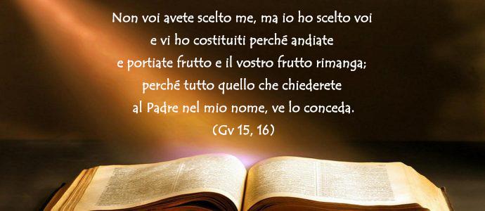 Vangelo di Giovanni 15, 16