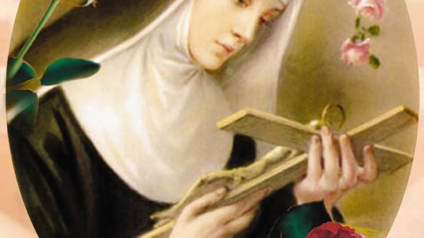 una preghiera a Santa Rita per ….