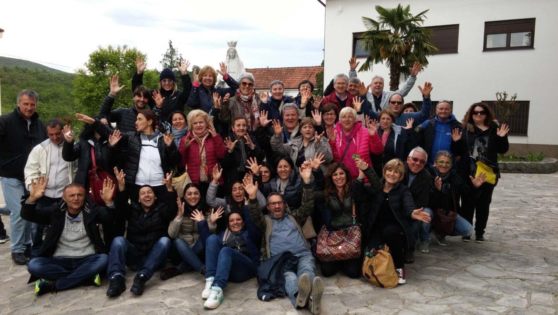 """I """"bambini pellegrini"""" del pellegrinaggio a Medjugorje del 29 aprile 4 maggio 2016"""