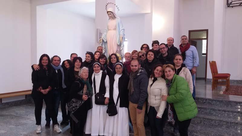 """I """"bambini pellegrini"""" del pellegrinaggio a Medjugorje del 27 marzo 1 aprile 2015"""