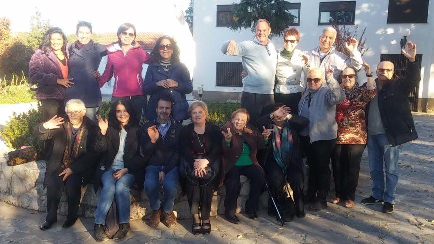 """I """"bambini pellegrini"""" del pellegrinaggio a Medjugorje del 31 ottobre 3 novembre 2015"""