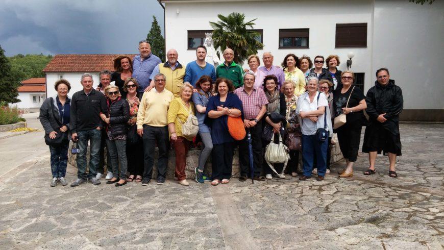 """I """"bambini pellegrini"""" del pellegrinaggio a Medjugorje del 30 maggio 4 giugno 2016"""