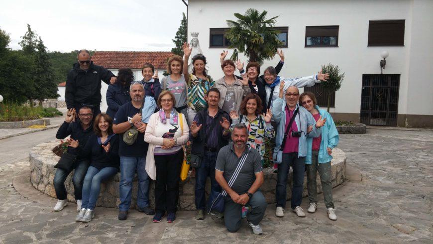 """I """"bambini pellegrini"""" del pellegrinaggio a Medjugorje del 15-20 giugno 2016"""
