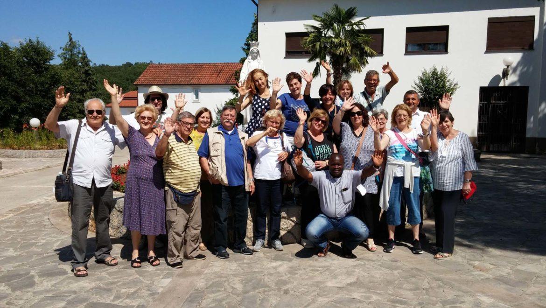 """I """"bambini pellegrini"""" del pellegrinaggio a Medjugorje del 30 giugno 5 luglio 2016"""