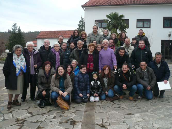 """I """"bambini pellegrini"""" del pellegrinaggio a Medjugorje del 29 dicembre 4 gennaio 2015 (speciale capodanno)"""