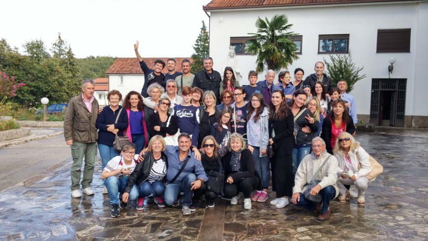 I bambini pellegrini del pellegrinaggio a Medjugorje del 29 settembre 4 ottobre 2016
