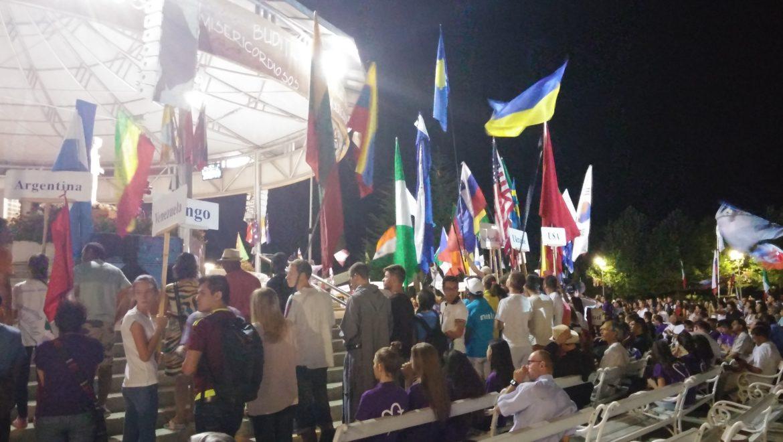 Siamo ancora quì..festival giovani di Medjugorje