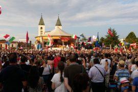 Pellegrinaggio festival dei giovani Medjugorje.