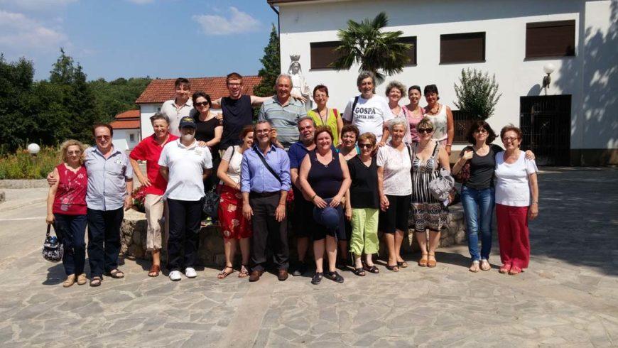 """I """"bambini pellegrini"""" del pellegrinaggio a Medjugorje del 15-20 luglio 2015"""