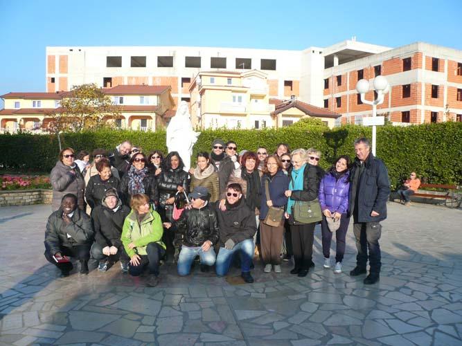 """I """"bambini pellegrini"""" del pellegrinaggio a Medjugorje del 30 ottobre 4 novembre 2014 (speciale aereo)"""