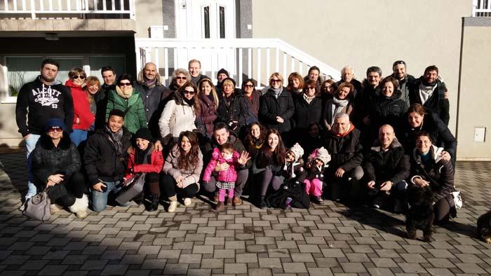 """I """"bambini pellegrini"""" del pellegrinaggio a Medjugorje in aereo del 29 dicembre 2 gennaio 2016"""