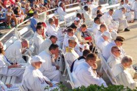Pellegrinaggio del festival dei giovani di Medjugorje