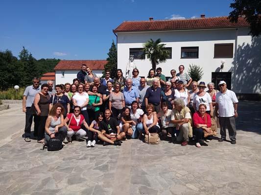 """I """"bambini pellegrini"""" del pellegrinaggio a Medjugorje del 30 giugno 5 luglio 2015"""