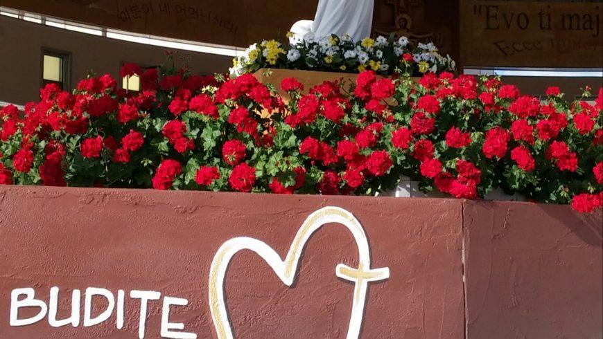 """La Madonna a Medjugorje sono """"la Regina della pace"""""""