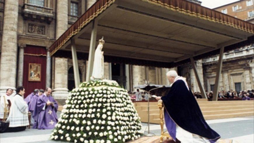 Cento anni dalla prima apparizione di Fatima
